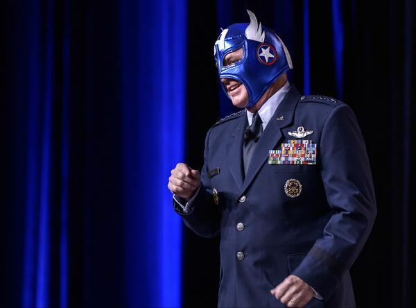 Air force Capt America