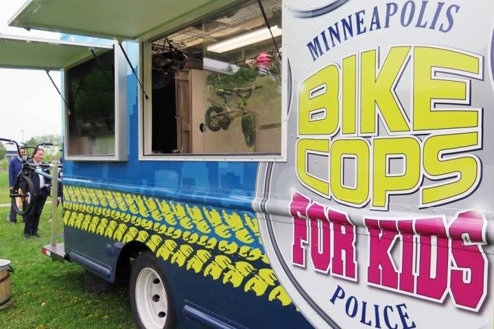 bike cops for kids