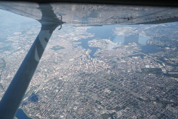 Persistent surveillance aerial